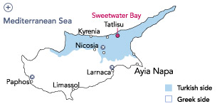 North Cyprus properties Map